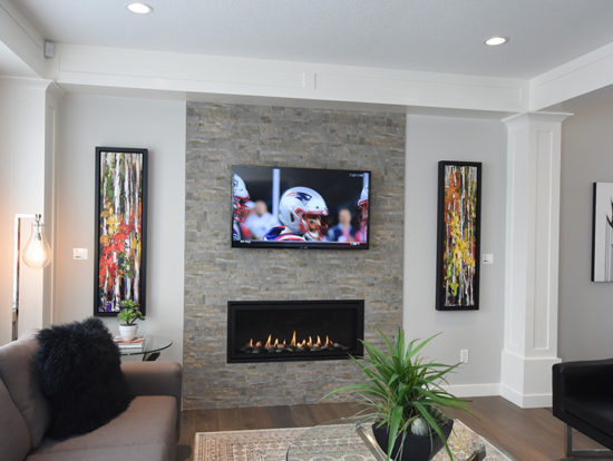 4610 - Living Room Fireplace