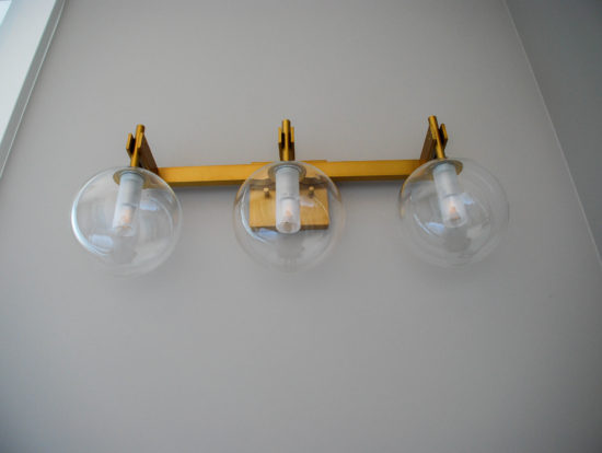 4437 - master ensuite lighting