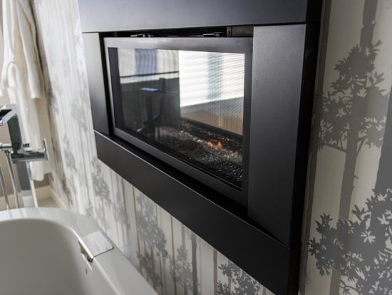4317 - Master Ensuite Double Sided Fireplace